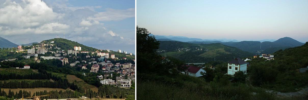 Гора Бытха Сочи