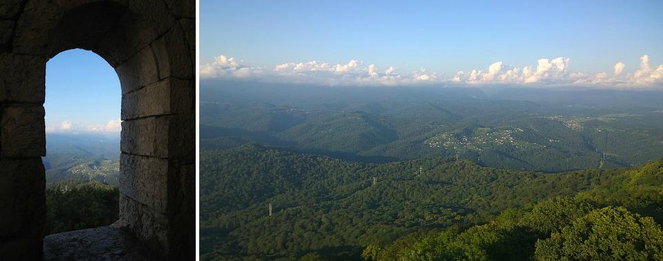 Смотровая башня гора Большой Ахун