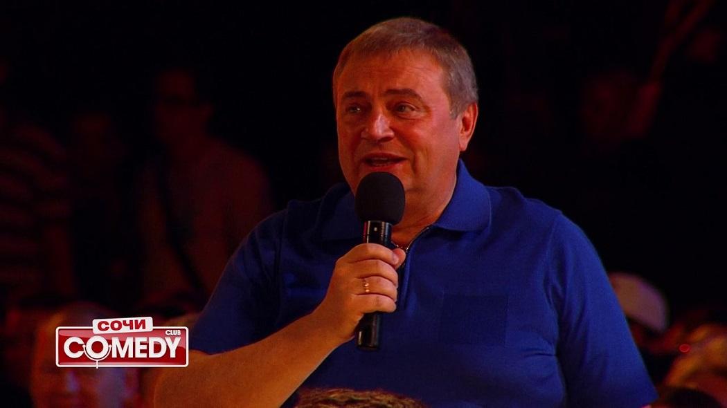 Мэр Анатолий Пахомов в Comedy Club в Сочи