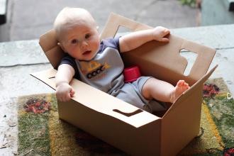 Ребенок Коробка