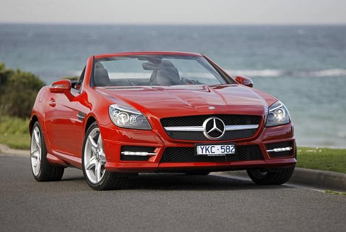 Mercedes-Benz SLK 200 Сочи кабриолет аренда свадьба