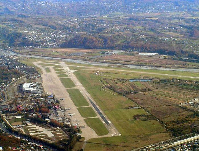Аэропорт Сочи 2006 год