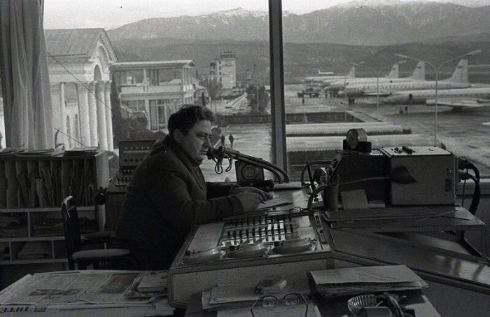 Диспетчерская Аэропорта Сочи 1969 год