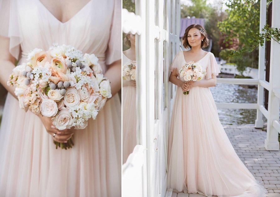 Свадебный букет фото Виктория Ковалева Brunia