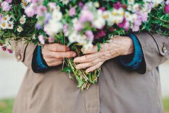 Цветы бабушка