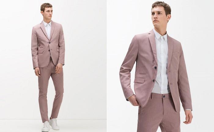 6d939aa34405 ... представлено 56 костюмов: от белого до классического черного, с жилетом  или даже с шортами вместо брюк. Помимо привычных для мужского костюма  цветов, ...