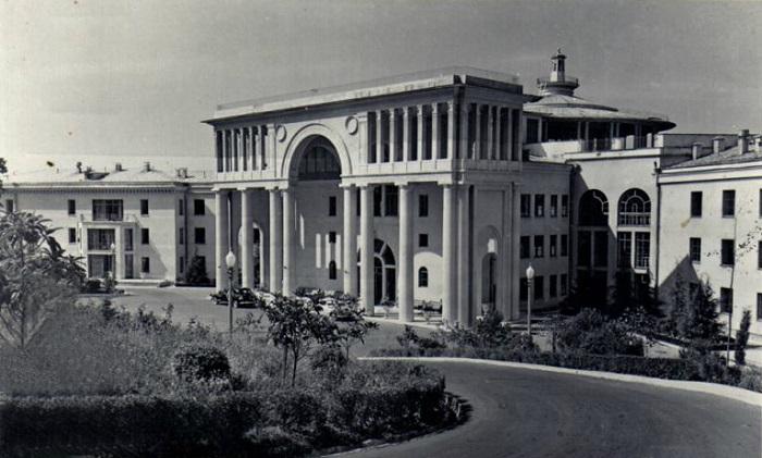 Как раньше выглядел отель RODINA Grand Hotel & SPA Санаторий Россия