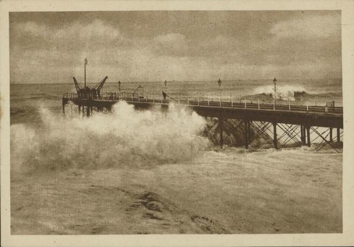 Шторм в Сочи 1920-е