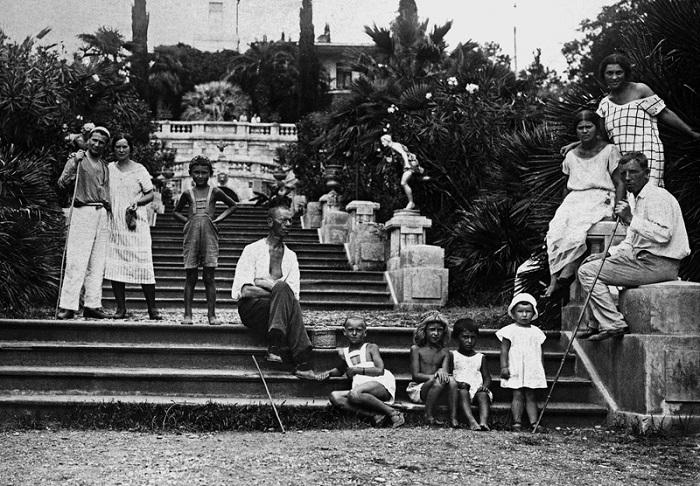 Отдыхающие в Сочи 1935