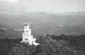 Гора Ахун Сочи 1950-1960-е