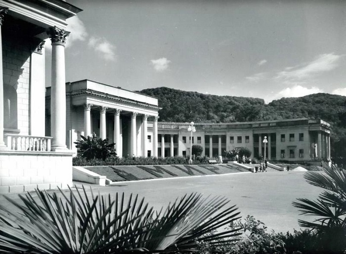 Санаторий Мацеста Сочи 1950-е
