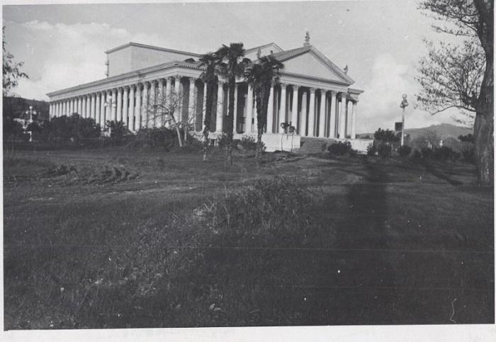 Зимний театр Сочи 1951-1952