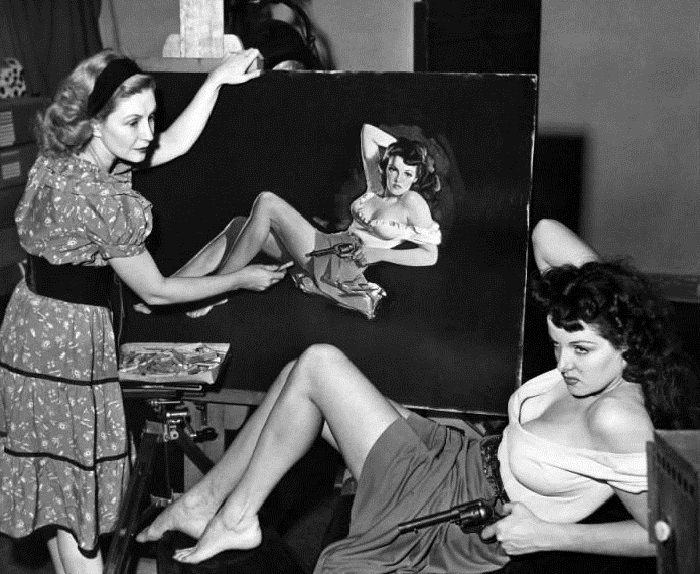 Jane Russell The Outlaw