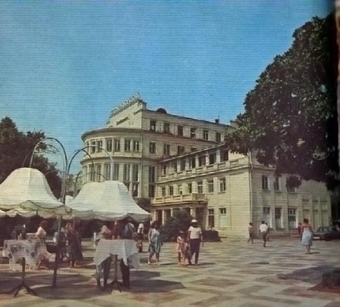 Гостиница Приморская Сочи