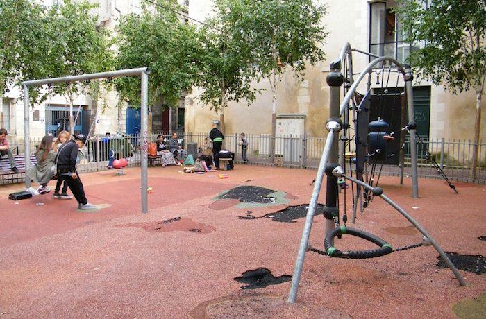Сквер Жана Бюро : источник фото- 2014.datajournalismelab.fr