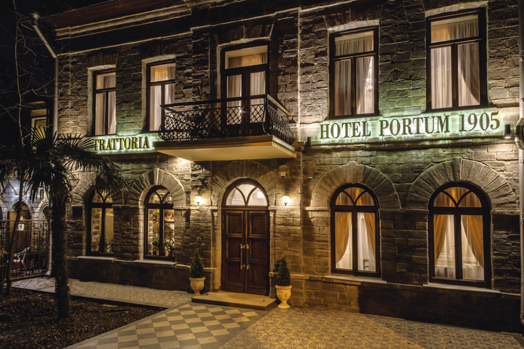 Необычный дизайн отелей и ресторанов