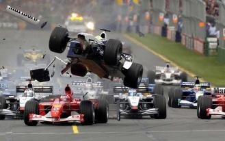 Формула-1 Авария