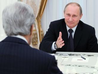 Владимир Путин Джон Керри