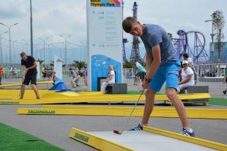 Мини-гольф Олимпийский парк Сочи