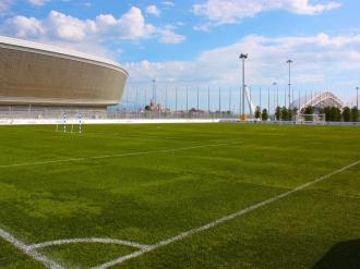 Футбольное поле Ледяной куб Сочи