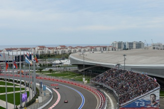 Формула-1 Сочи Ночной этап