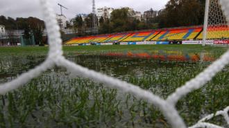 Центральный стадион Метревели Сочи наводнение