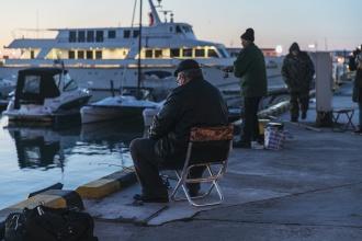 Сочи рыбаки морпорт