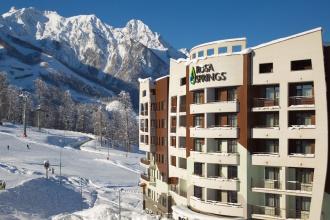 Rosa Springs в Сочи стала лучшей бальнеологической гостиницей России