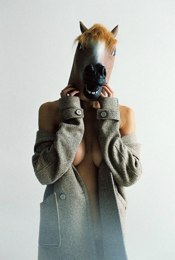 лошадь в пальто картинка дымчатые кошки
