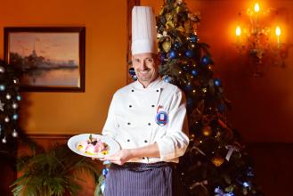Маурицио Пекколо шеф-повар ресторан Чайка Сочи ризотто с шампанским и розами как приготовить рецепт