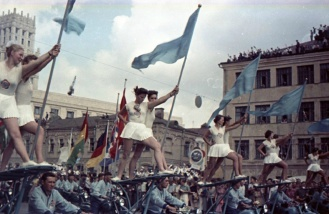 Всемирный фестиваль молодежи 1957 Москва