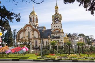 Храм Святого Равноапостольного Великого князя Владимира Сочи