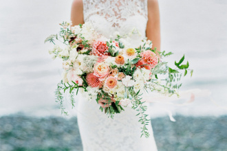 Свадебный букет фото