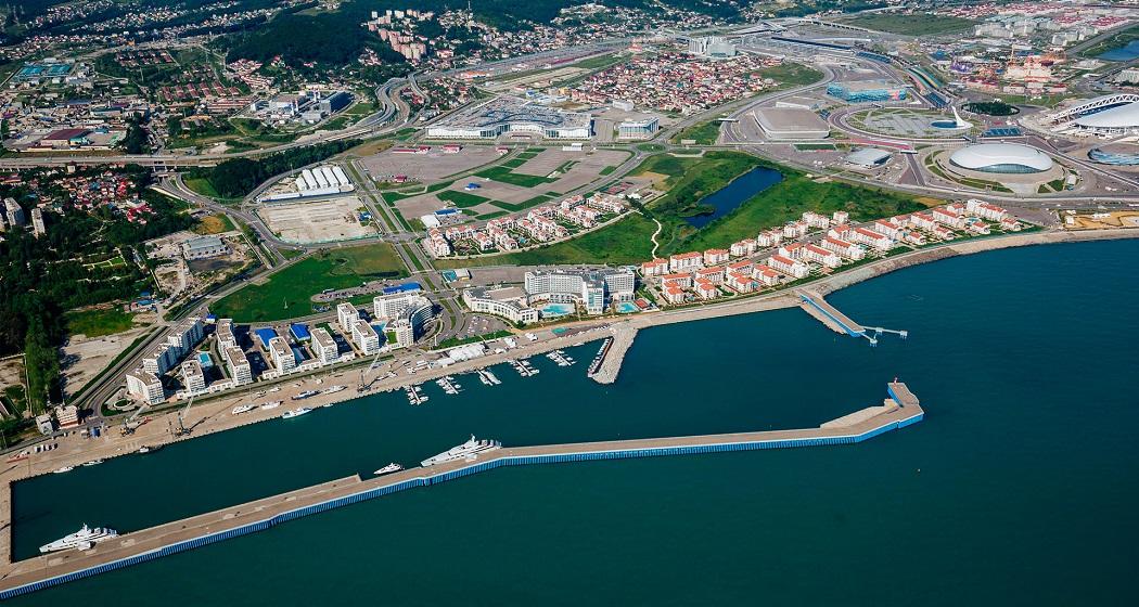 Яхтенный порт Имеретинский Сочи