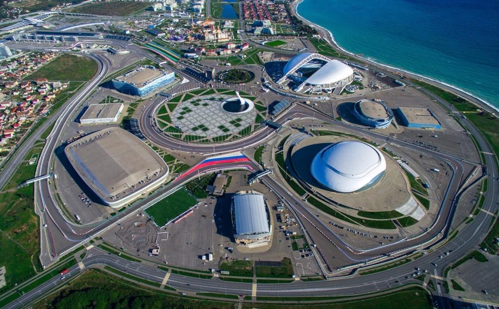 квартире есть фото олимпийский парк сочи вид сверху работает нефтеперегонный завод